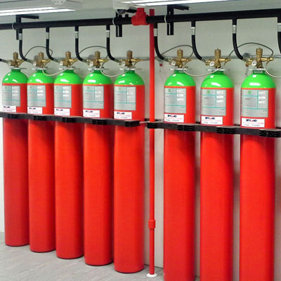 Fire Suppression System at DC One